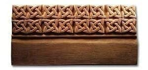 Celtic Knots Edging Stone Mold