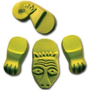 Creature Planter Feet Mold