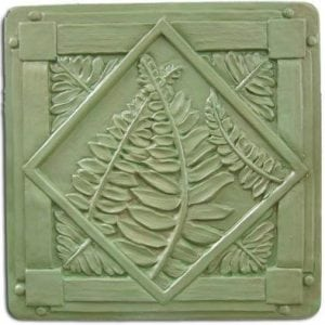 Ferns Stepping Stone Mold