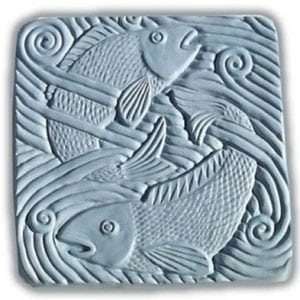 Fish In Water Stepping Stone Mold