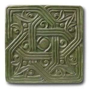 Gothic Square Stepping Stone Mold