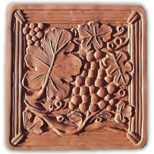 Grape Arbor Stepping Stone Mold