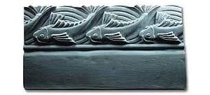 Jumping Fish Edging Stone Mold