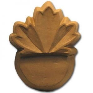 Maple Leaf Planter Feet Mold