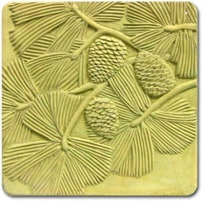 Pine Branches Stepping Stone Mold
