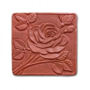 Rose Stepping Stone Mold