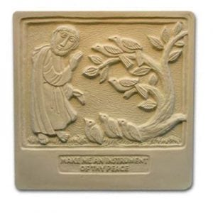 St. Francis Plaque Mold