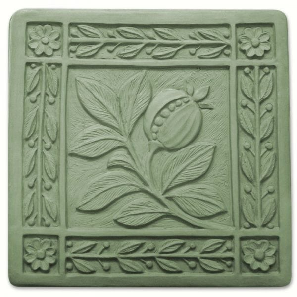 Art Nouveau Tile Stepping Stone Mold