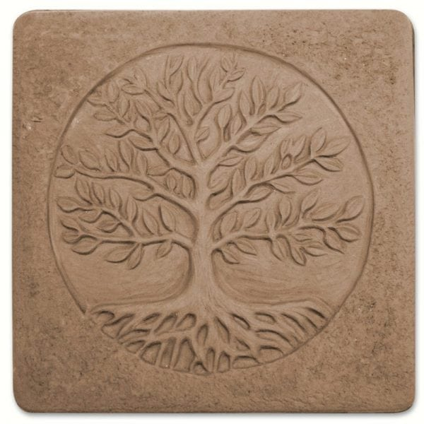 Tree of Life Stepping Stone Mold