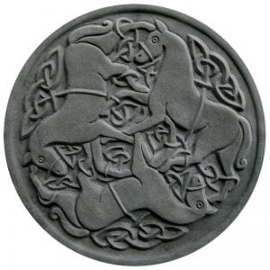 Celtic Horses Stepping Stone Mold