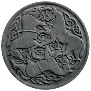 Celtic Horses Stepping Stone Mold