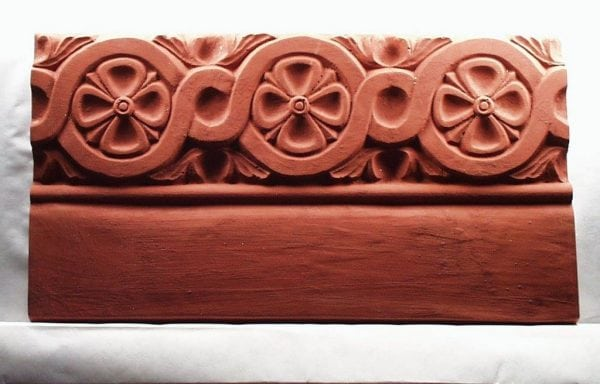 Braided Flowers Edging Stone Mold