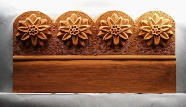 Scalloped Flower Edging Stone Mold