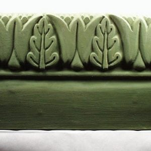 Tulip and Leaf Edging Stone Mold