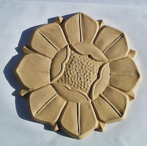 Dahlia Stepping Stone Mold