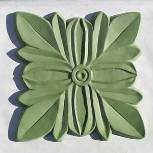 Gothic Flower Stepping Stone Mold