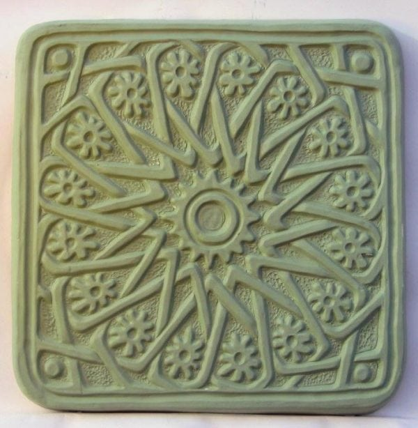 Flower Mandala Stepping Stone Mold