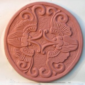 Asian Butterflies Stepping Stone Mold