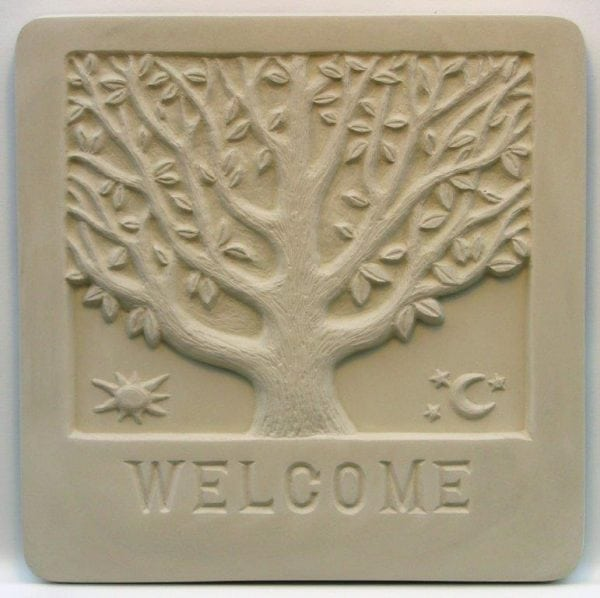 Welcome Plaque Mold